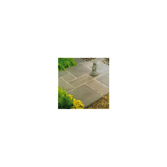 Stamford Pewter Random Patio Kit 2.4mx2.4mx45mm