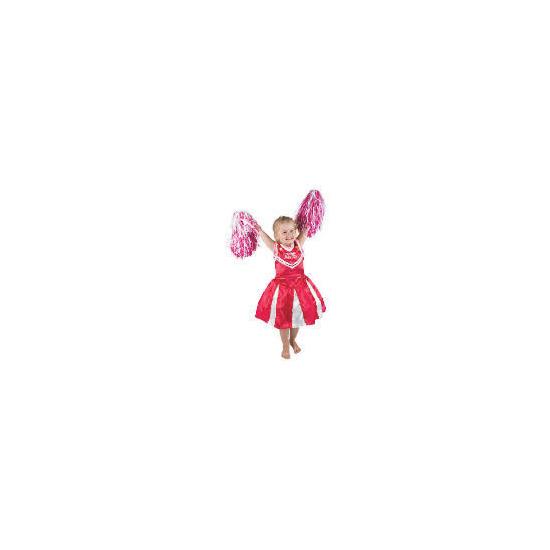 Hsm Pink Cheerleader 5/6 Years