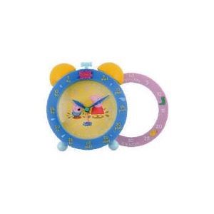 Photo of Peppa Pig Time Teaching Twinbell Alarm Clock Clock