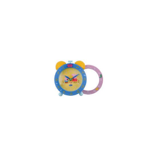 Peppa Pig Time Teaching Twinbell Alarm Clock