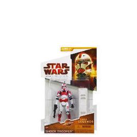Star Wars Saga Legends Shock Trooper Figure Reviews