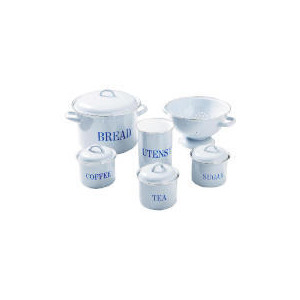 Photo of Swan Enamel 6PC Kitchen Set - Duck Egg Blue Kitchen Accessory