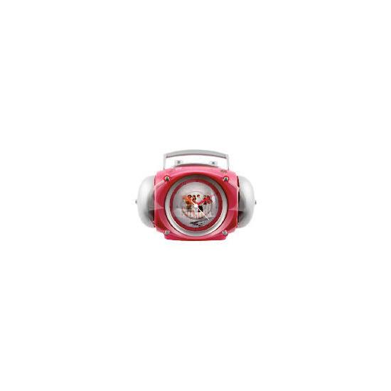 High School Musical 3 Boom Box Alarm Clock With Free Keyring