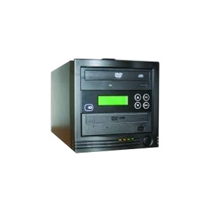 Photo of EDGE10 Edgedupe ONE2ONE - Disc Duplicator - DVD-Writer X 1 , DVD-ROM X 1 - Max Drives: 2 - External Computer Component