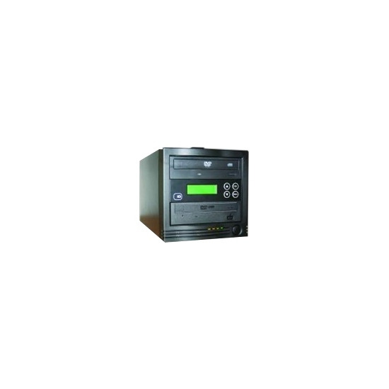 Edge10 Edgedupe One2One - Disc duplicator - DVD-Writer x 1 , DVD-ROM x 1 - max drives: 2 - external