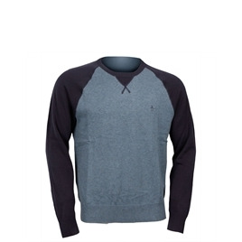 Penguin Raglan Cotton Crew Neck Jumper - Blue Reviews