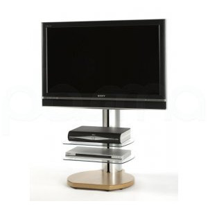 Photo of Off The Wall Origin S4 Oak TV Stands and Mount