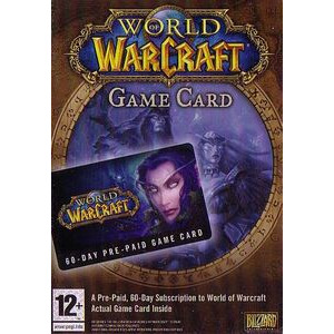 Photo of World Of Warcraft 60 Day Timecard (PC) Video Game