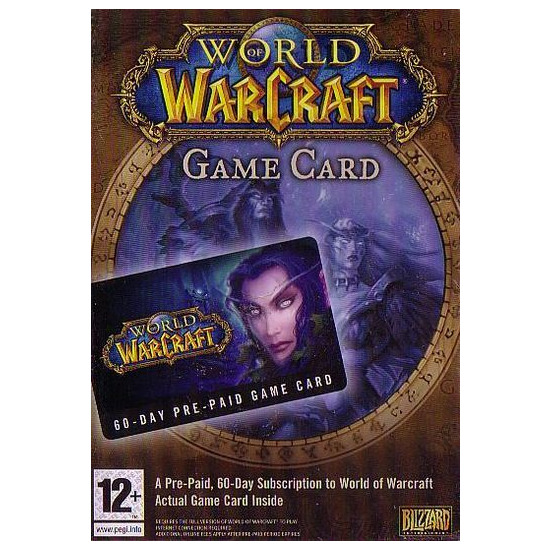 World Of Warcraft 60 Day Timecard (PC)
