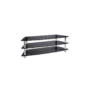 Photo of Mercury 3 Shelf Unit Black TV Stands and Mount