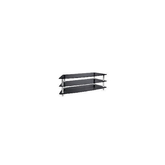 Mercury 3 Shelf Unit Black