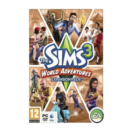 The Sims 3: World Adventures Expansion Pack (PC)