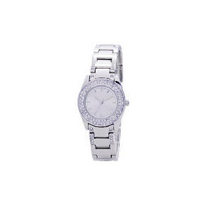 Photo of F&F LADIES DIAMANTE ROUND FACE WATCH Jewellery Woman