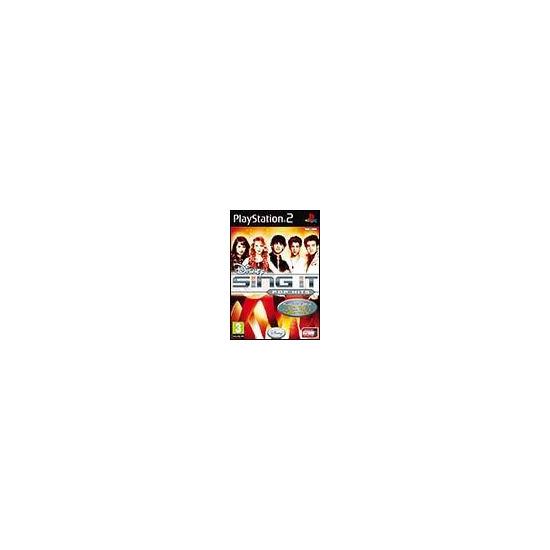 Disney Sing It: Pop Hits (PS2)