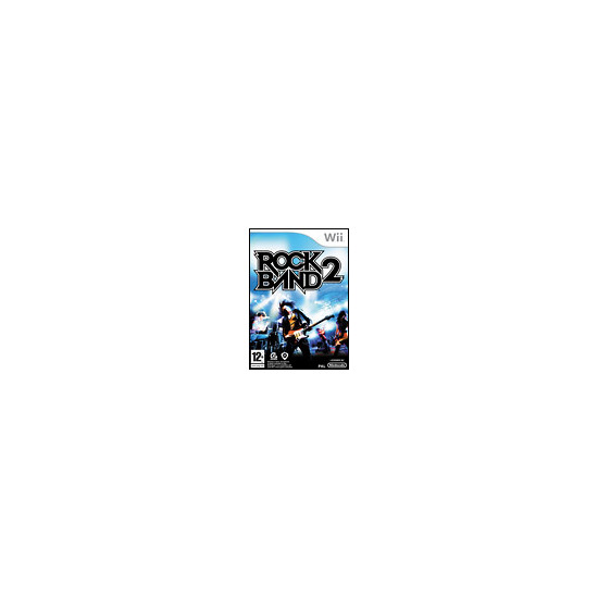 Rock Band 2 - Game Only (Wii)