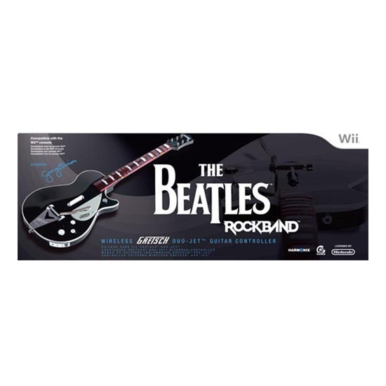 The Beatles: Rock Band - George Harrison Gretch Duo Jet Guitar (Wii)