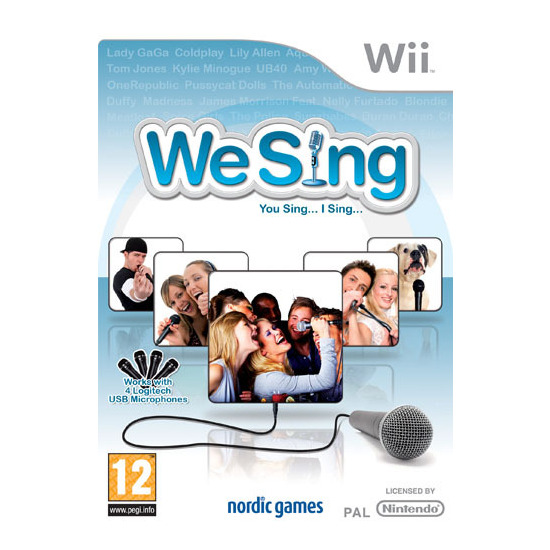 We Sing - Game Only (Wii)