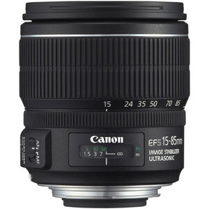 Photo of Canon EF-S 15-85MM F/3.5-5.6 IS USM Lens