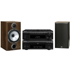 Photo of Denon DF107 and Monitor Audio BR2 Speakers HiFi System