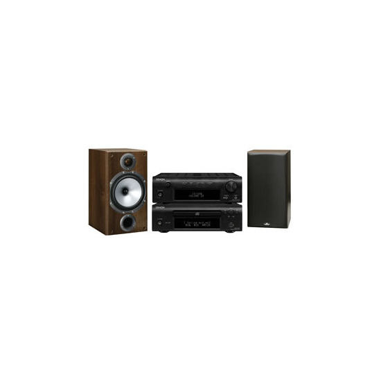 Denon DF107 and Monitor Audio BR2 speakers