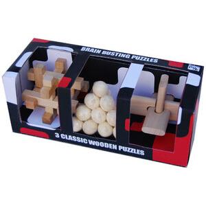 Photo of Brain Puzzle 3 Wood Set Gadget