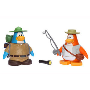 Photo of Disney Club Penguin - 5CM Mix 'N' Match Figure Series 4 Camping and Fisherman Toy