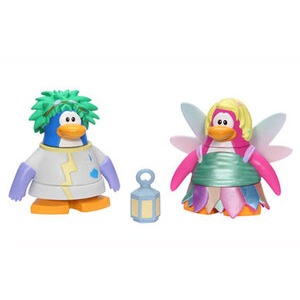 Photo of Disney Club Penguin - 5CM Mix 'N' Match Figure Series 4 Rad Scientist and Fairy Toy