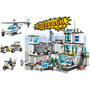 Photo of Lego City - Police Super Pack 4 In 1 66257 Toy