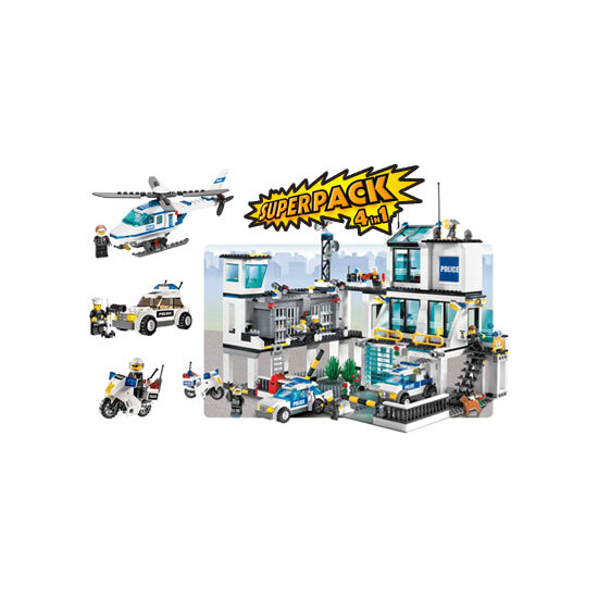 Lego City - Police Super Pack 4 in 1 66257
