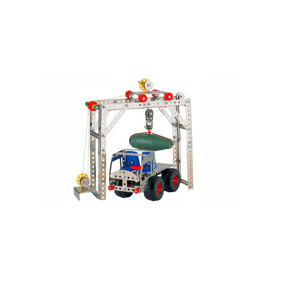 Nuts & Bolts Engineering Set - Truck & Crane Loader