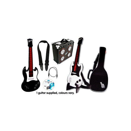 Power Tour Electric Guitar, Guitar Amp & Tour Gig Set