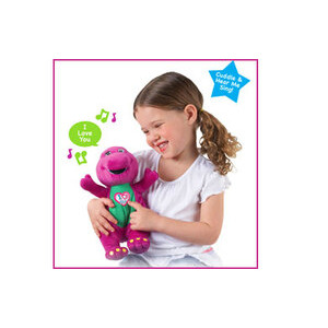 Photo of Barney - 10IN I Love YOU Toy