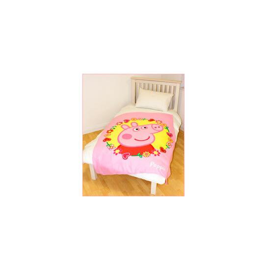 Peppa Pig Polka Dot Fleece Blanket