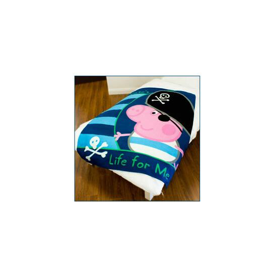 Peppa Pig George Pirate Fleece Blanket
