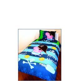 Peppa Pig George Pirate Duvet and Pillowcase Set Reviews