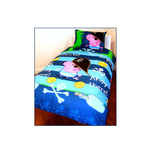Photo of Peppa Pig George Pirate Duvet and Pillowcase Set Toy