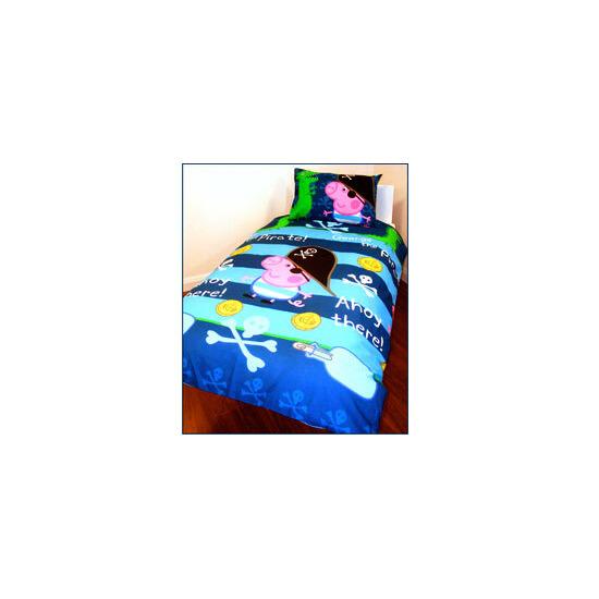 Peppa Pig George Pirate Duvet and Pillowcase Set