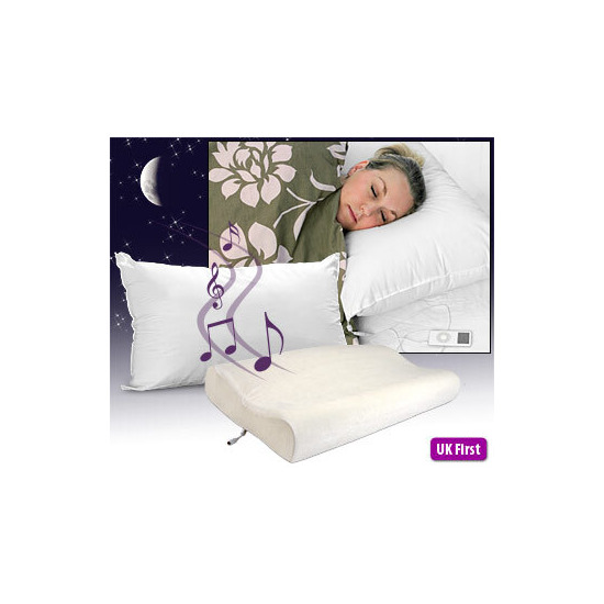 Sound Asleep Pillow -Memory Foam
