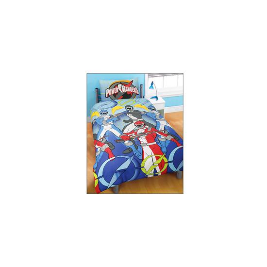 Power Rangers Blue Duvet and Pillowcase Set