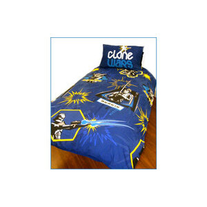 Photo of Star Wars Clone Wars Blast Duvet and Pillowcase Set Bed Linen