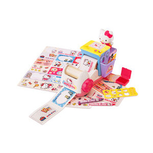 Photo of Hello Kitty Sticker and Card Maker Toy