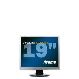 "Iiyama Pro Lite E1906S-1 - LCD display - TFT - 19"" - 1280 x 1024 - 250 cd/m2 - 20000:1 (dynamic) - 5 ms - 0.294 mm - DVI-D, VGA - speakers - silver Reviews"