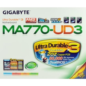 Photo of GIGABYTE AMD 770 Motherboard