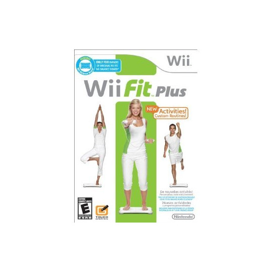 Wii Fit Plus (Game Only)