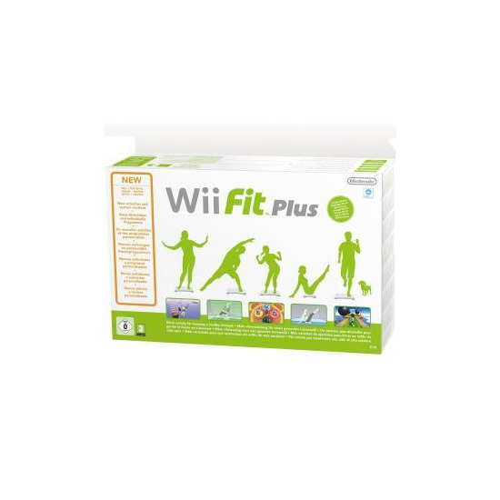 Wii Fit+ & Balance Board (Wii)