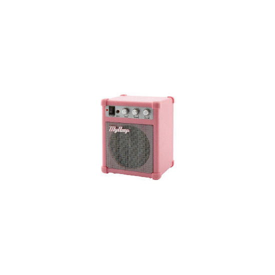 How Cool Is This Pink Mp3 Amp Speaker