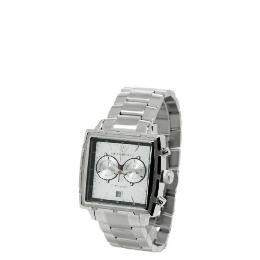 Armani Mens Silver Square Face Bracelet Watch Reviews