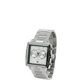 Armani Mens Silver Square Face Bracelet Watch Reviews