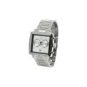 Photo of Armani Mens Silver Square Face Bracelet Watch Watches Man