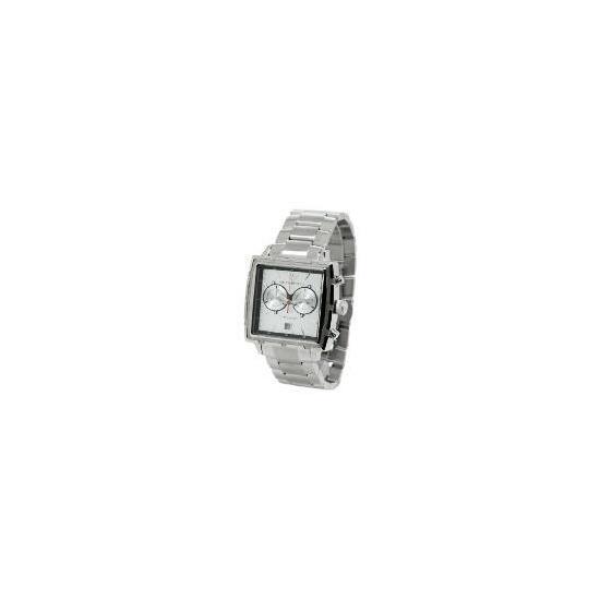 Armani Mens Silver Square Face Bracelet Watch